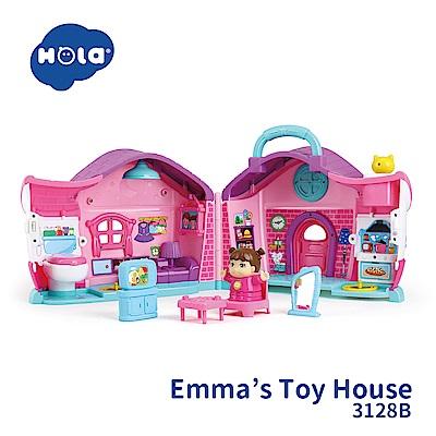 香港HOLA幼兒聲光玩具-女孩故事學習屋 3128B