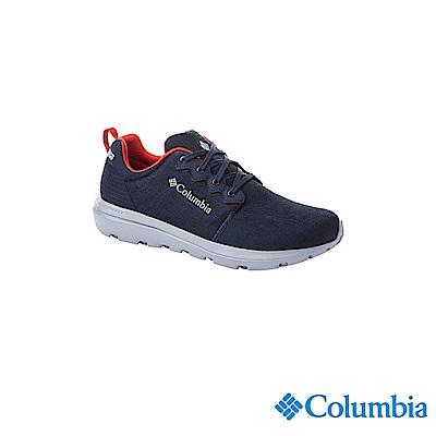 Columbia 哥倫比亞 男款-OD防水休閒鞋-深藍 UBM11030NY