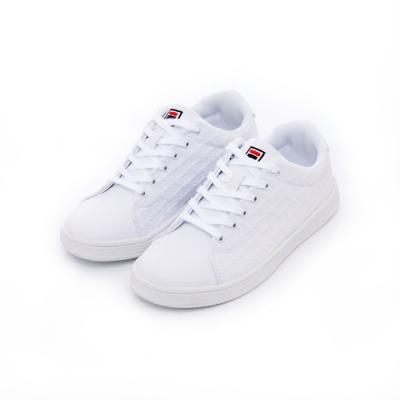 FILA 中性休閒鞋-白 4-C908T-111