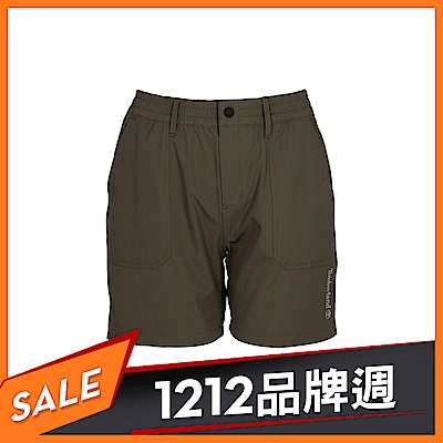 Timberland 女款葡萄葉綠色工裝短褲|B3301