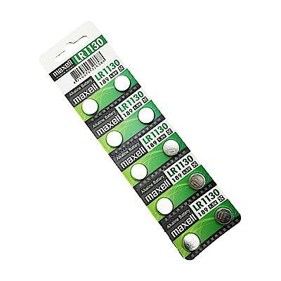 日本品牌 水銀電池 maxell LR1130(一卡10入)