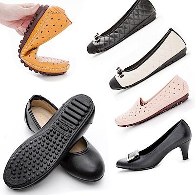 [時時樂限定]River&Moon台灣製乳膠包跟鞋多款選
