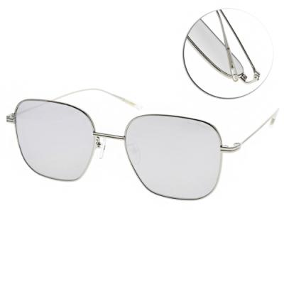 PAUL HUEMAN太陽眼鏡 韓系金屬質感鏡框款/銀-淺白水銀 # PHS918A 02