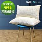 Ania Casa 天絲透氣羽絲絨枕 採3M防潑水 防蟎抗菌 枕芯 臺灣製 一組2入