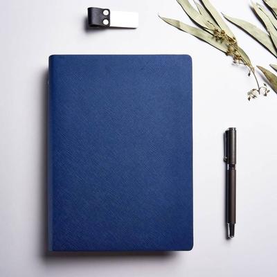 磊泰 業務好幫手-A5/25K 活頁筆記本-6孔-藍色-方格橫線