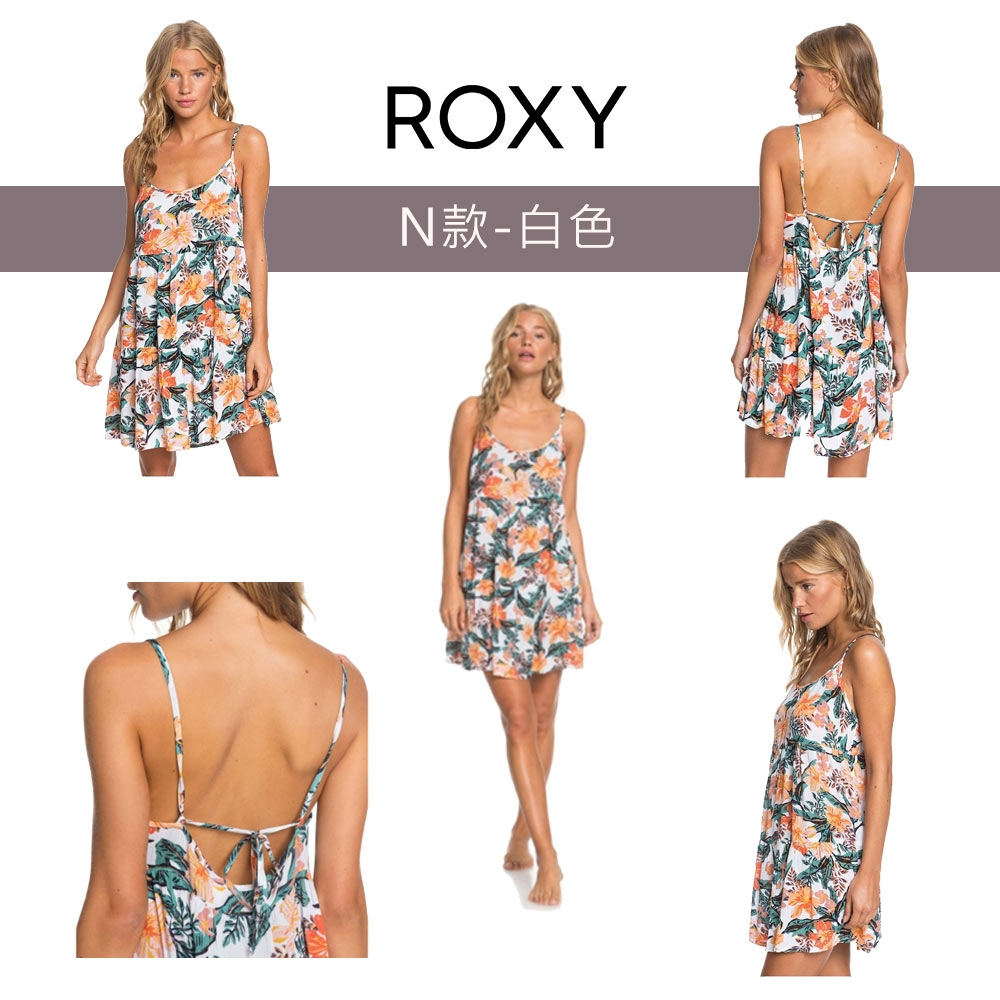 【獨家39折起】ROXY精選女裝/洋裝$888 (任選) (尺寸XS-M) (N款-白色)