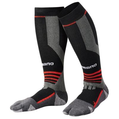 【SHIMANO】暖續力3D機能長統襪 全趾式 SC-005Q