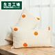 【百貨週年慶暖身 全館5折起-生活工場】簡約生活美式枕套二入組-甜橘 product thumbnail 1