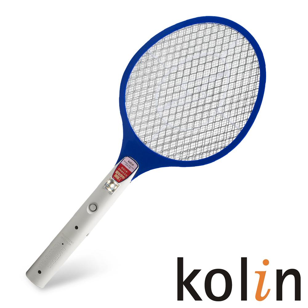 《KOLIN歌林》三層/充電式/LED電蚊拍(KEM-009)