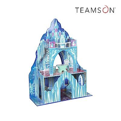 Teamson 冰雪城堡主題娃娃屋 (附6件傢俱)