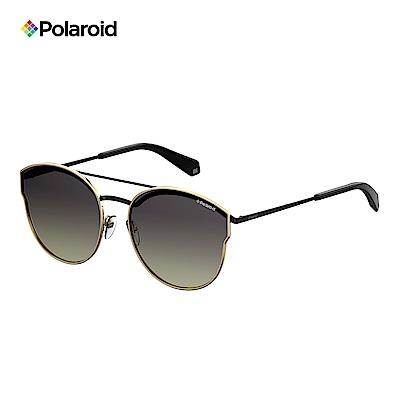 Polaroid PLD 4057/S-中性薄框太陽眼鏡 黑金色