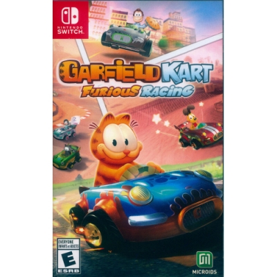 加菲貓卡丁車:瘋狂競速 Garfield Kart: Furious Racing  - NS Switch 英文美版
