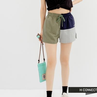H:CONNECT 韓國品牌 女裝 -都市叢林 拼接造型休閒短褲