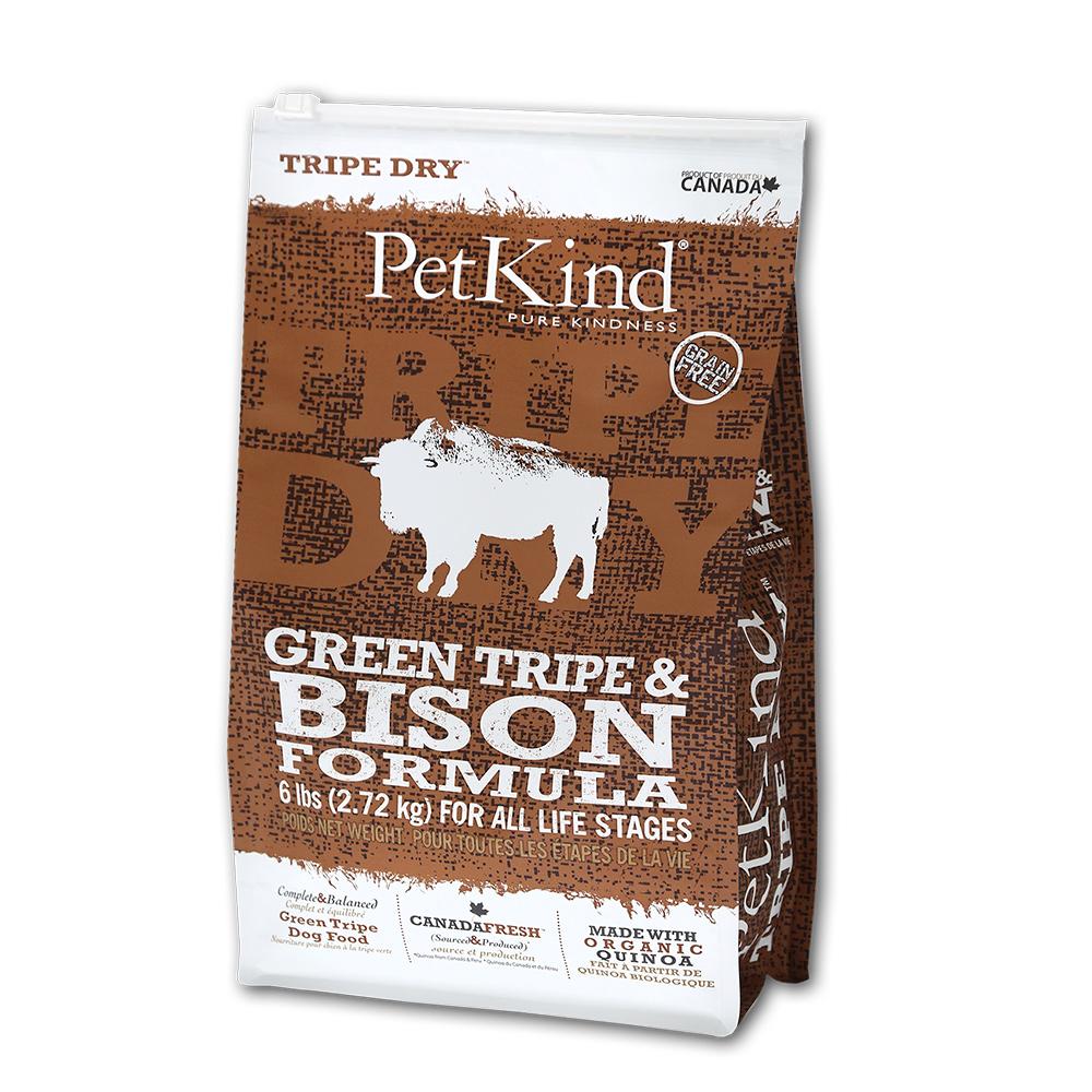 PetKind 野胃 天然鮮草肚狗糧 原野牛 6磅