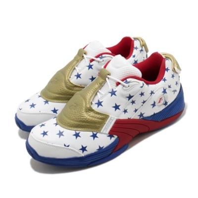 Reebok 籃球鞋 Answer V MU 運動 男鞋 明星款 戰神 星星 球鞋 穿搭 白 藍 FW7486