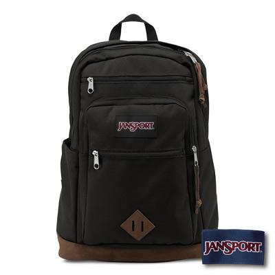 JanSport -WANDERER 系列後背包 -黑