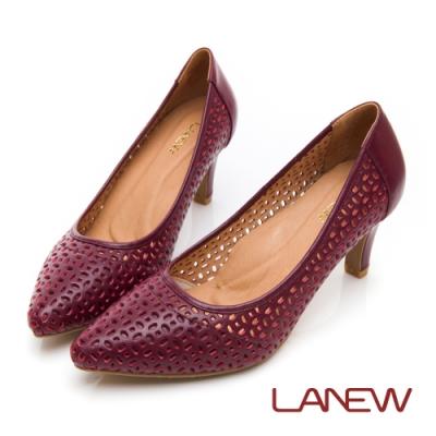 LA NEW 呵護 SO Lite 彈力減壓 尖頭高跟鞋(女225043750)