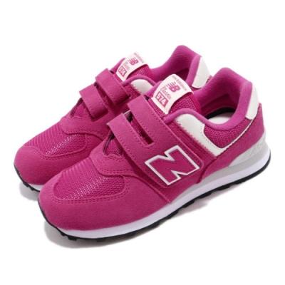 New Balance 慢跑鞋 YV574ERLW 寬楦 童鞋