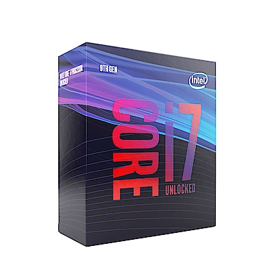 Intel Core i7-9700K 八核心處理器《3.6Ghz/LGA1151》
