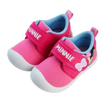 迪士尼童鞋 米妮 趣味造型寶寶學步鞋-粉(柏睿鞋業)