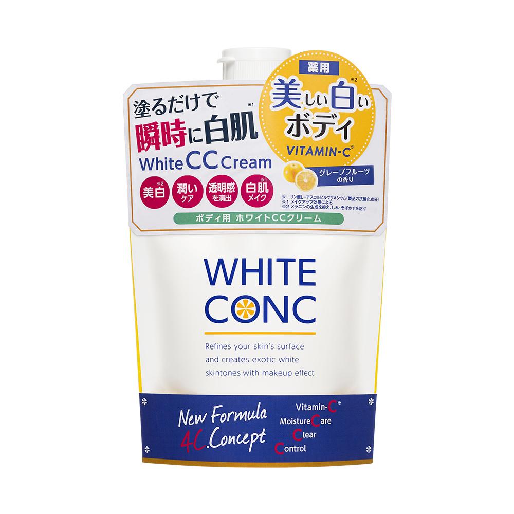 WHITE CONC 超強美肌身體CC霜 200G  (新版)