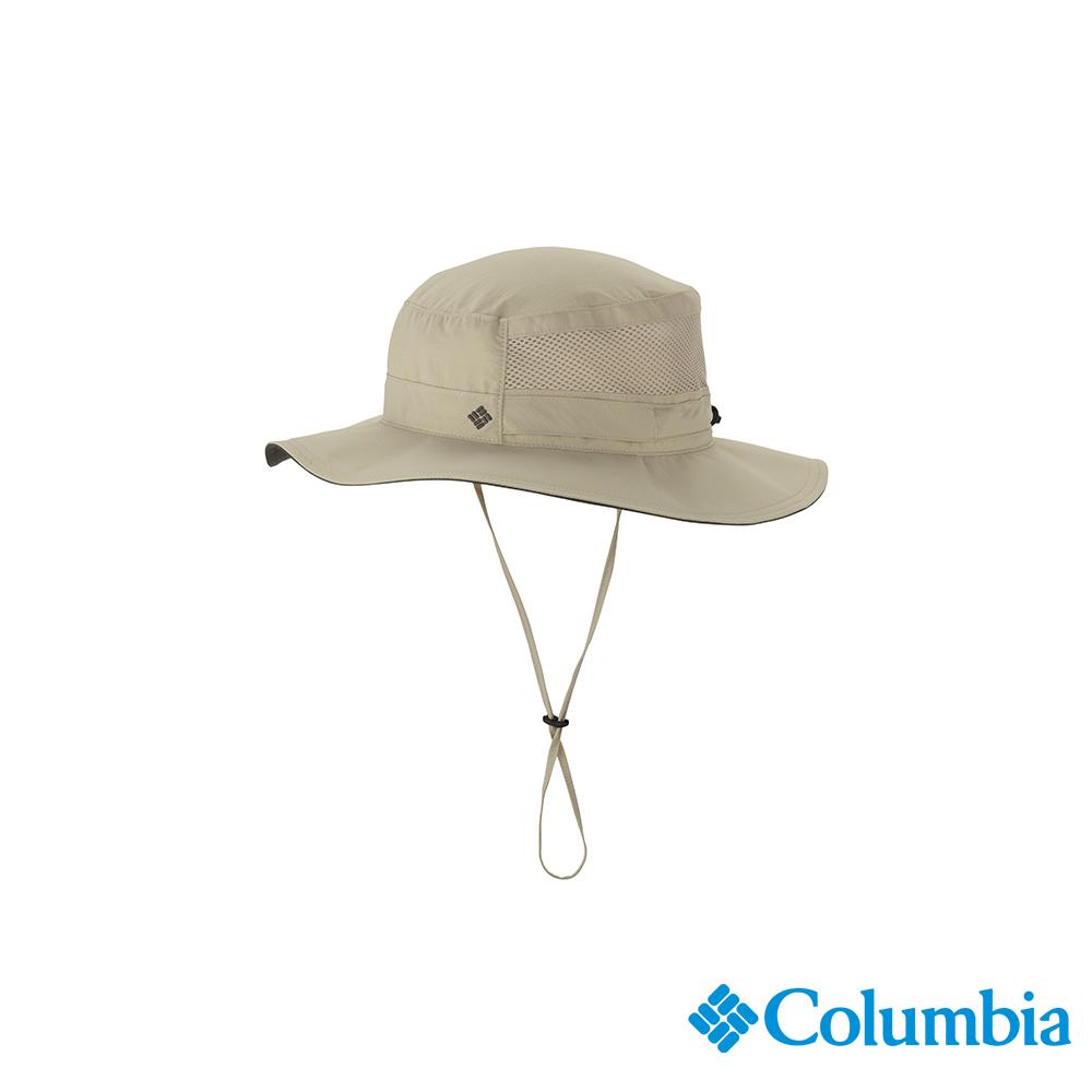 Columbia 哥倫比亞 中性-UPF50快排遮陽帽-卡其 UCU91070KIFDS