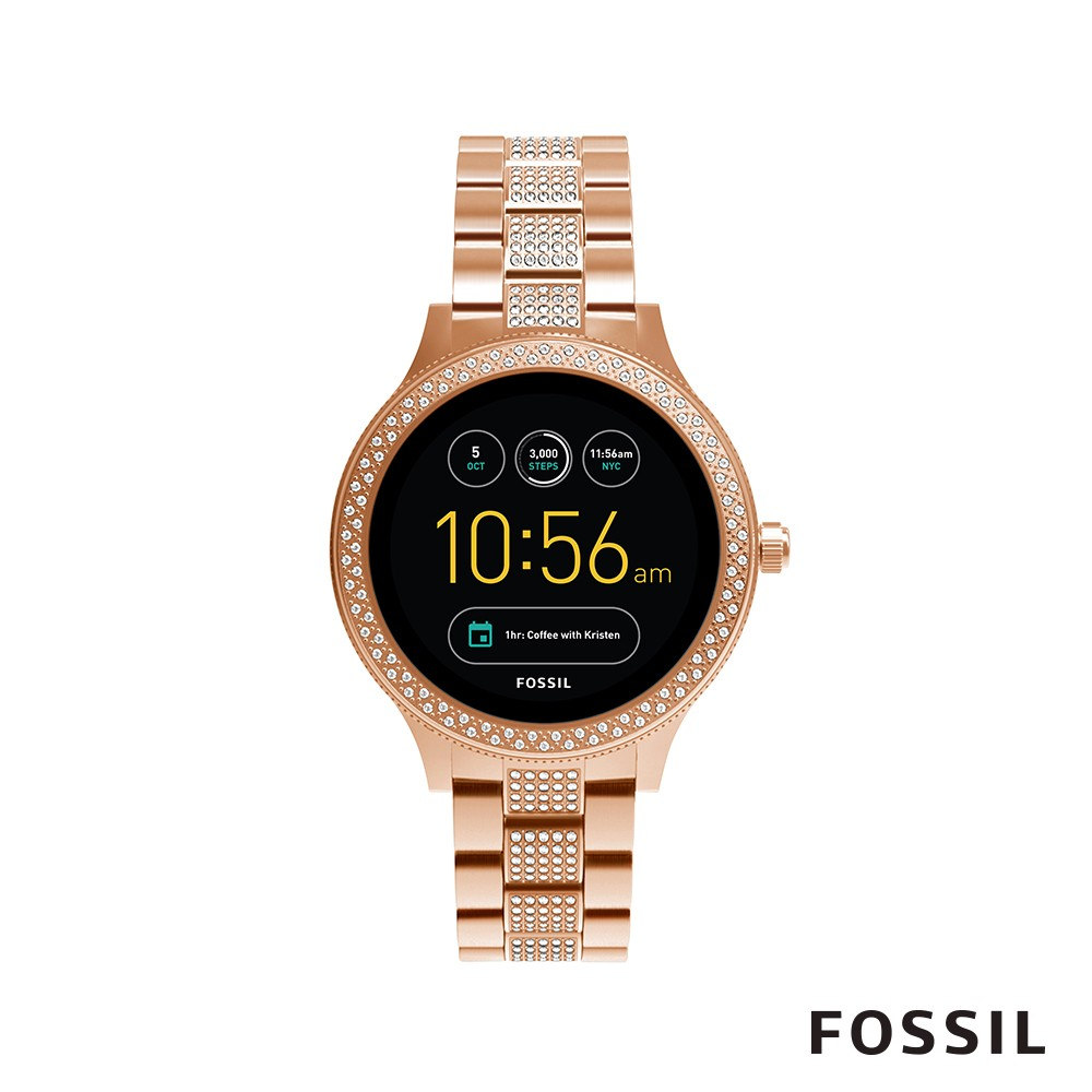 FOSSIL Q VENTURE 時尚晶鑽觸控式智能錶