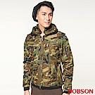 BOBSON 男款迷彩鋪棉短外套(迷彩42)