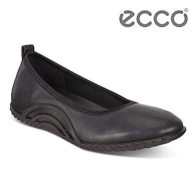 ECCO VIBRATION 1.0 活力運動風套入式休閒鞋 女-黑