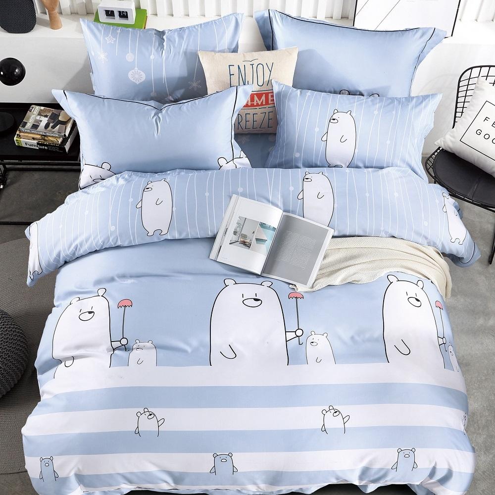 (買一送一)夢之語 3M天絲鋪棉床罩組(多款)-單/雙/大均價 (為你撐傘)