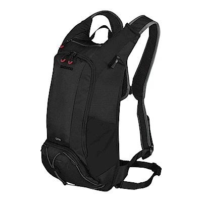 【SHIMANO】UNZEN 14L 自行車背包 (不含水袋) 黑