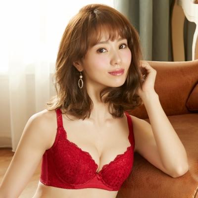 摩奇X-Good Fit Bra B-C 罩杯神奇魔力線內衣(玫瑰紅)