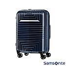 Samsonite新秀麗20吋D200 幾何圖形可擴充硬殼登機箱(藍)