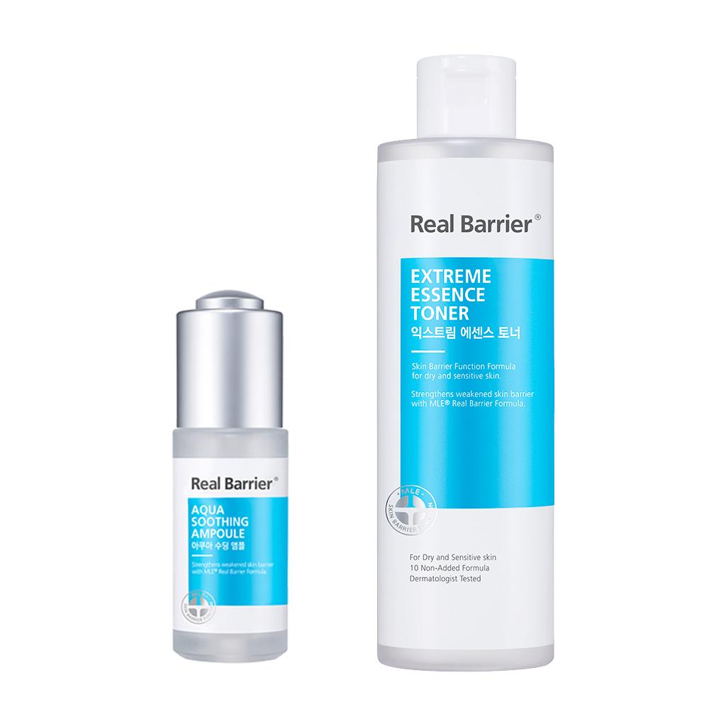 Real Barrier沛麗膚 屏護保濕精華化妝水190ml+保濕濃縮精華20ml(最低效期:2021/03/12)