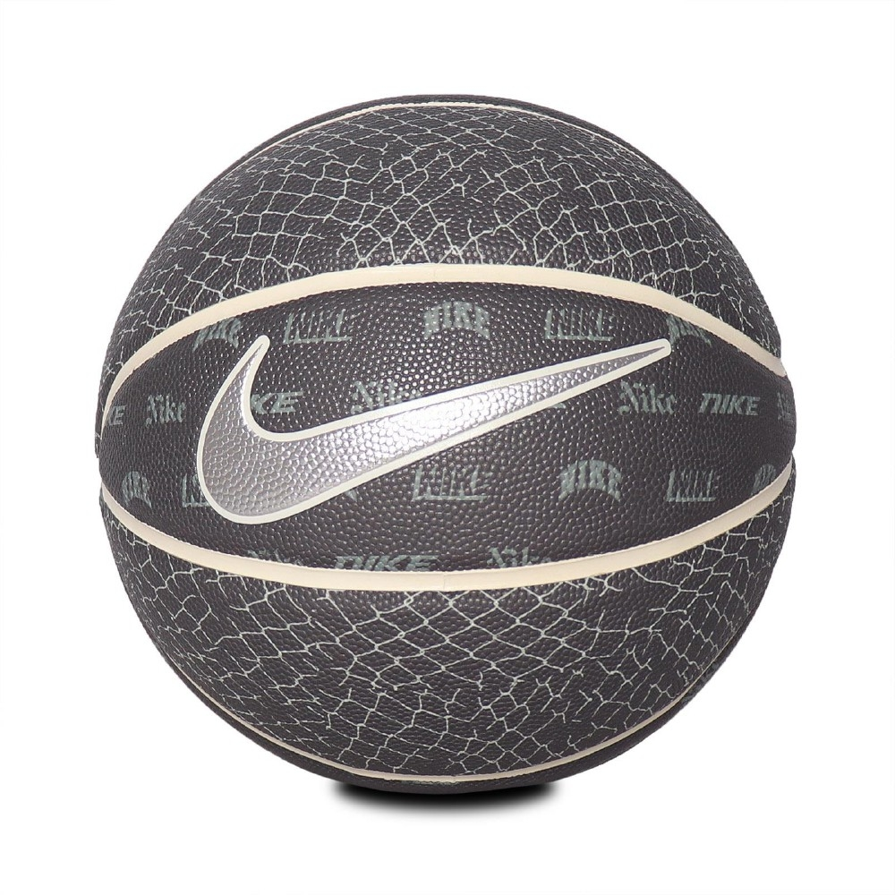 Nike 籃球 8P NY VS NY Basketball 7號球 室內外 橡膠材質 耐磨 水泥地可用 黑 銀 N100334108107