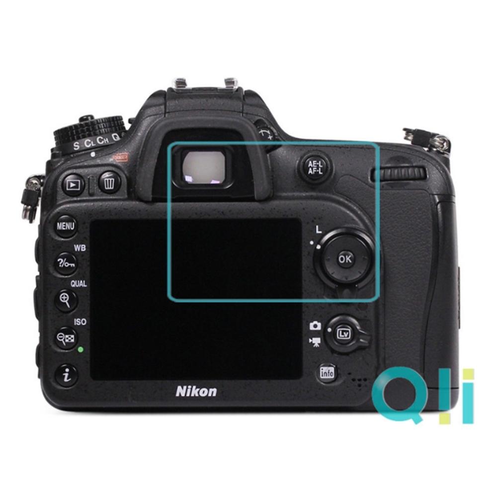 Qii Nikon D7100/D7200 螢幕玻璃貼 (兩片裝)