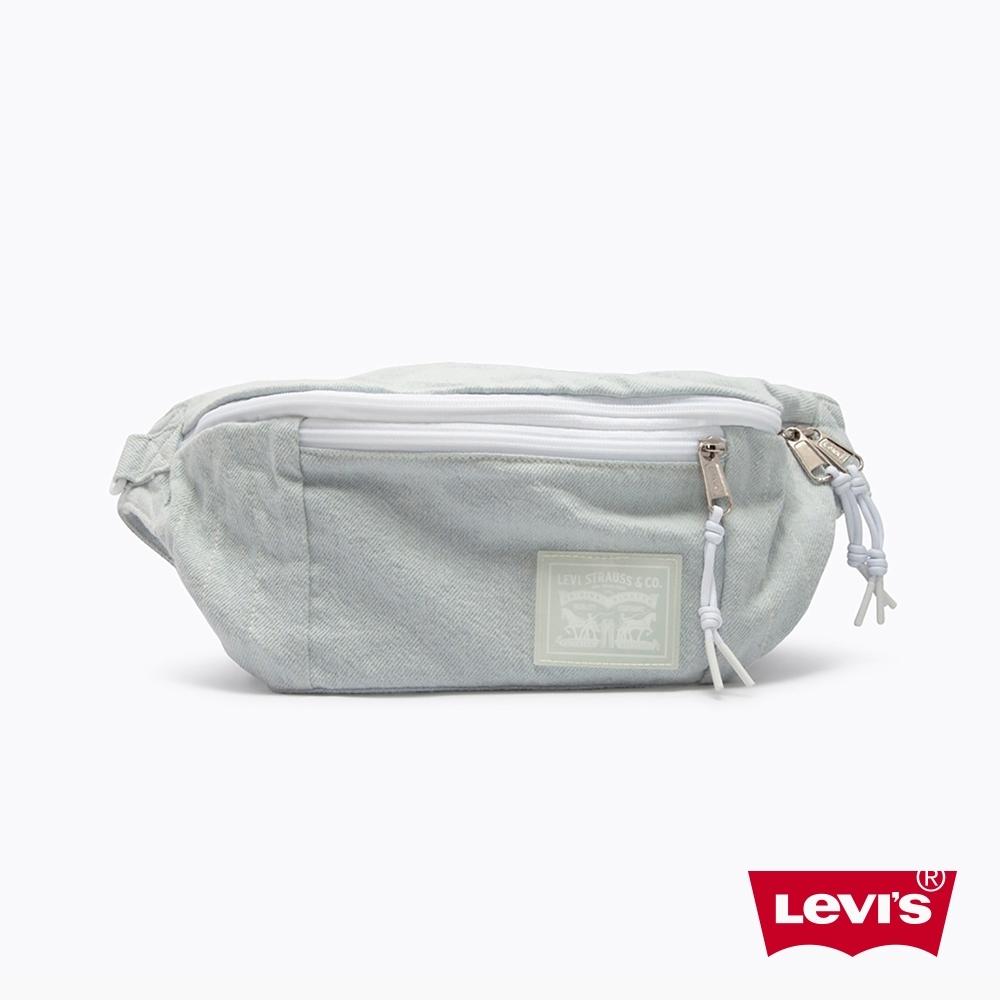 Levis 男女同款 丹寧肩背包 / 質感洗舊工藝  / 回收再造丹寧