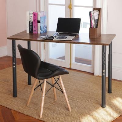 完美主義 高度可調圓腳工作桌/電腦桌/書桌/餐桌-120CM(8色)