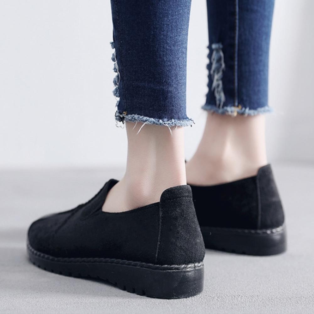 LN 現+預 十字絨面舒適休閒鞋-3色