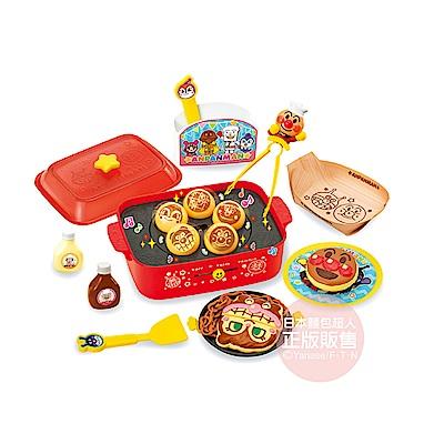 麵包超人 來開章魚燒派對吧♪麵包超人有聲玩具烤盤!