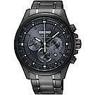 SEIKO精工 Criteria 台灣限定太陽能計時碼錶(SSC693P1)-灰42mm
