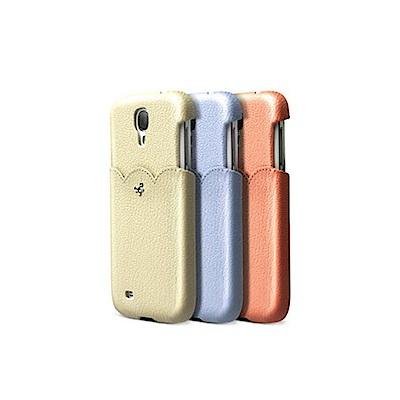 ZENUS SAMSUNG GALAXY S4 粉嫩甜美 皮革硬式保護殼