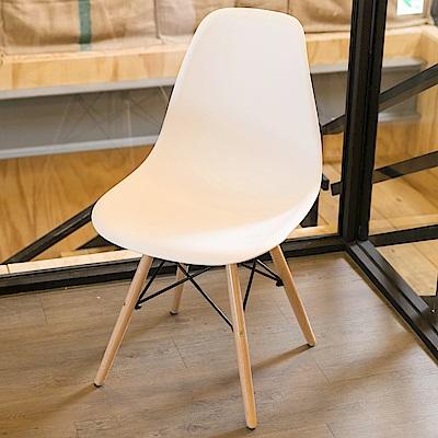 IDEA-現代極簡馬卡龍風休閒餐椅