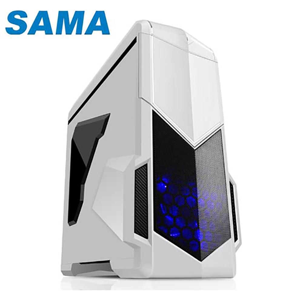 SAMA 先馬 SAI004(W)  影子戰士  白  電腦機殼
