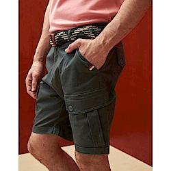 CACO-彈性工作短褲(兩色)-男【SAR038】