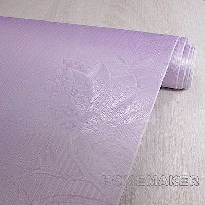 中國印花自黏壁紙-紫色1入 JI-1205