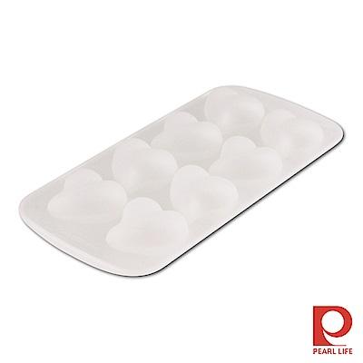 Pearl Life 日本涼夏俱樂部矽膠立體製冰模-愛心8連式