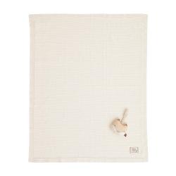 有機棉針織棉毯禮盒條紋薄款