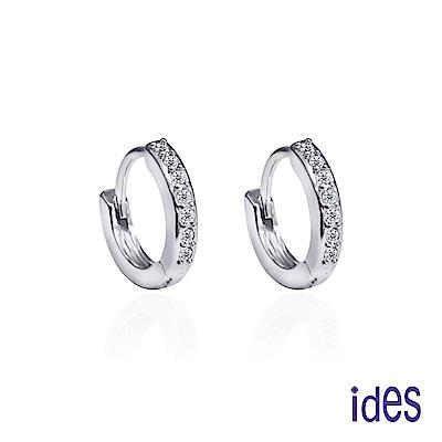 ides愛蒂思 日本輕珠寶10K耳環/簡約風情