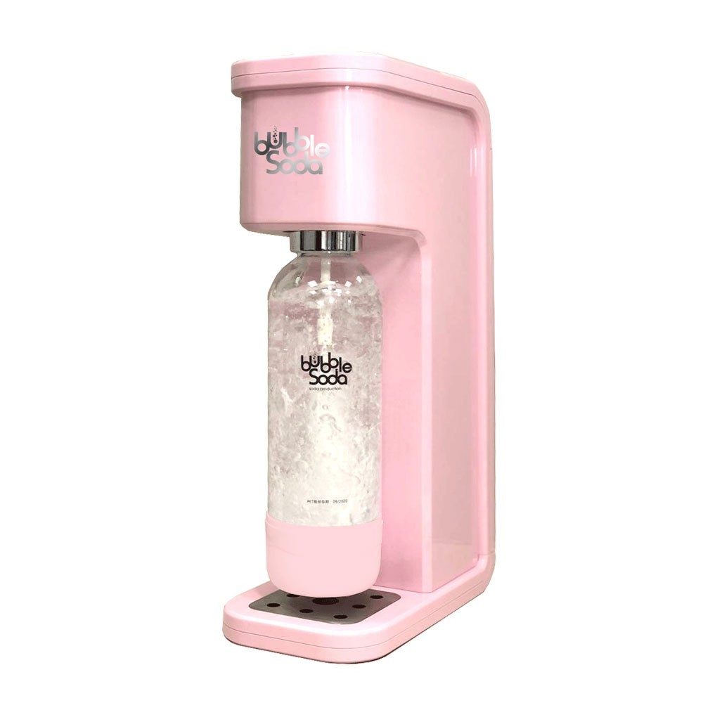 BubbleSoda 全自動氣泡水機 BS-304 花樣粉紅